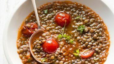 Sopa de lentejas Bimby: 10 recetas