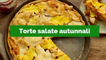 Pastel salado de otoño: 20 recetas