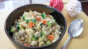 Recetas con arroz de coliflor: nuestras ideas