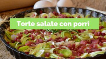 Pastel salado con puerros: 10 recetas