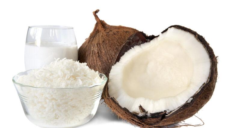 como reemplazar la harina de coco