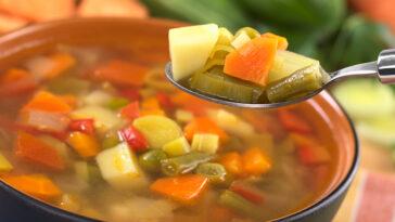 Minestrone, cómo preparar y congelar las verduras
