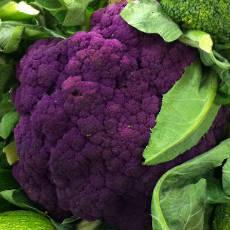 Coliflor púrpura: recetas, ideas y 10 maneras de comerla