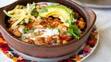 Cómo preparar Chile con pavo o carne molida