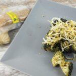 ensalada de brócoli con soja y sésamo
