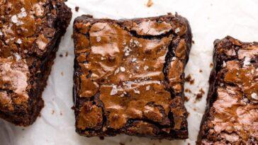 Brownies de avellana de 3 ingredientes: fácil de hacer