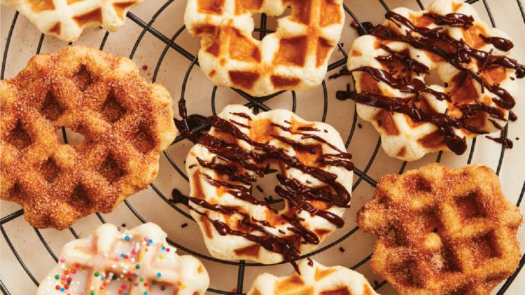 waffle maker donuts