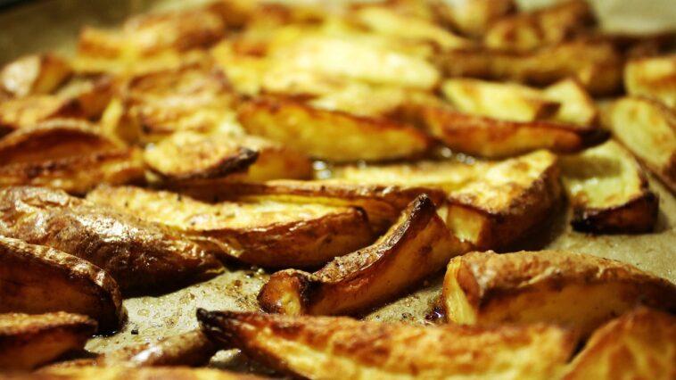 bandeja de patatas