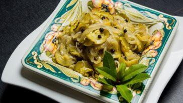 Ensalada tibia de calabacín al limón: receta fácil y deliciosa