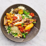 tagini de verduras y quinoa