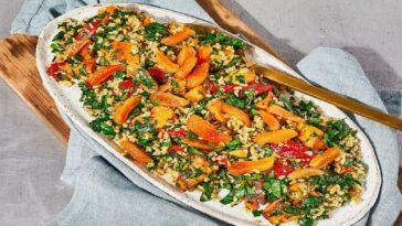 Bandeja de freekeh marroquí: deliciosa receta