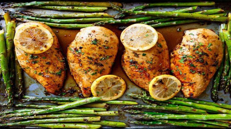 pollo asado al limón