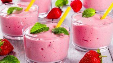 Mousse de fresa, el postre perfecto para el verano