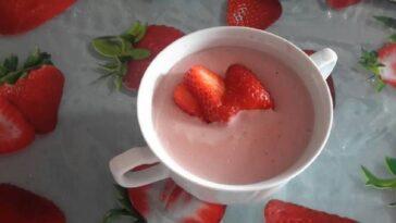 Cómo hacer un pudín de verano de gelatina de fresa