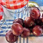 compota frutas verano
