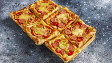 pizzas de hojaldre