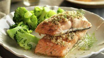 Cómo hacer bandeja de salmón de soja y brócoli