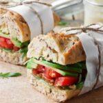 sandwich prensado