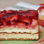 Prepara una tarta de fresas y semillas de amapola