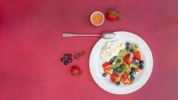 yogur helado fresa
