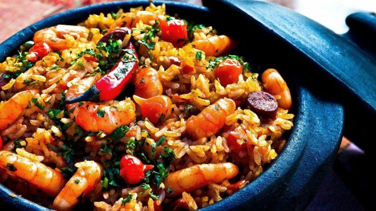 arroz hierbas