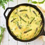 Tortilla de estragón, setas y salchichas: ingredientes y preparación