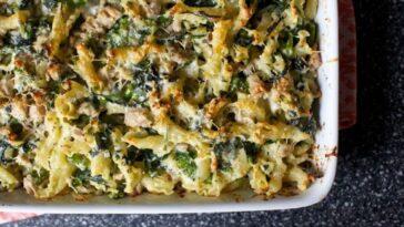 Pasta al horno con brócoli: ingredientes y preparación