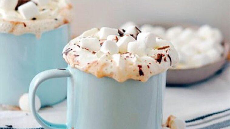 batidos de chocolate caliente