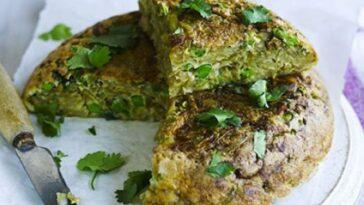 Tortilla de Bhaji: receta, ingredientes y preparación