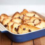 Cómo preparar un pudín clásico de pan y mantequilla