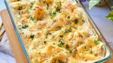 coliflor y queso
