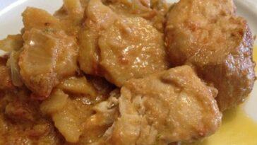 guiso de pollo africano picante