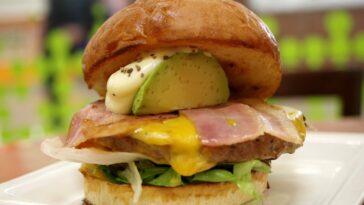 hamburguesa aguacate