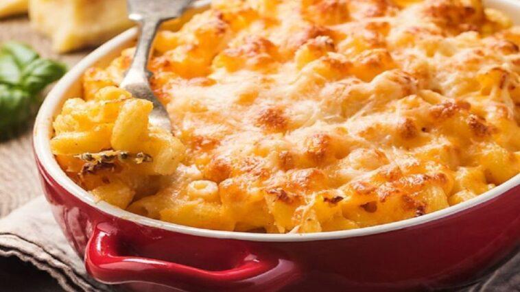 macarrones queso mantequilla