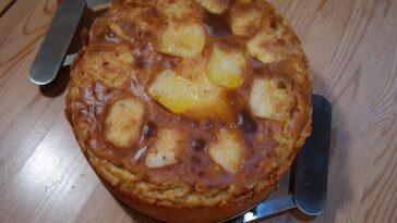 pastel patata