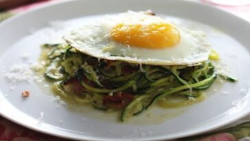 huevos con calabacin