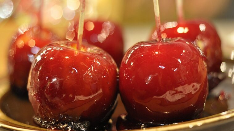manzana caramelo