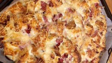 pizza de pan duro