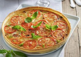 tarta de tomate