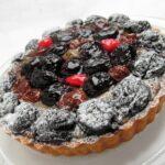 torta uvas negras