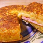 tortilla jamon y queso