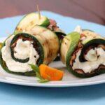 Rollo de carne con calabacines a la parrilla: una receta ideal