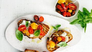 Bruschette con calabacines y bacon: una receta sabrosa y deliciosa