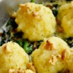 albondigas de patatas y queso