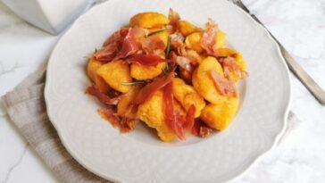 Ñoquis de calabaza: la receta del primer plato rústico y sabroso