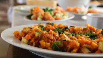 guiso verduras al estilo marroqui