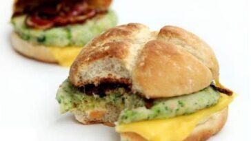 Hamburguesas de brócoli: sabrosa receta vegana