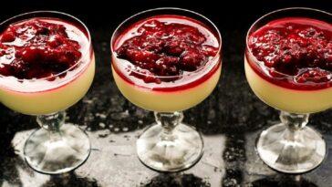 Pudín de fresa y uva: receta de un postre de origen campesino