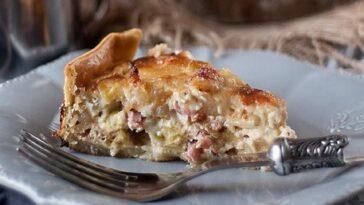 Tarta de calabaza y queso Gorgonzola: una receta rústica y otoñal