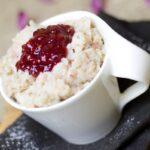 Arroz con leche con higos y miel: ligero y cremoso para la merienda